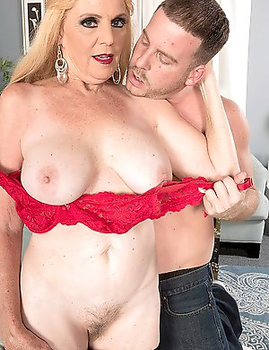 Charlie Charm, a 63-year-old mother and grandmother, returns to suck and fuck 30something stud Tony Rubino, something most mothers and grandmothers, e