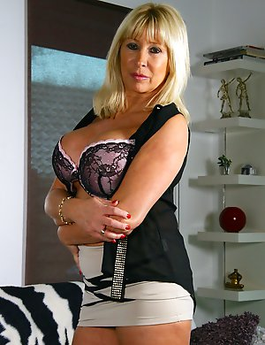 Hot Dutch Mom showing off her naughty side